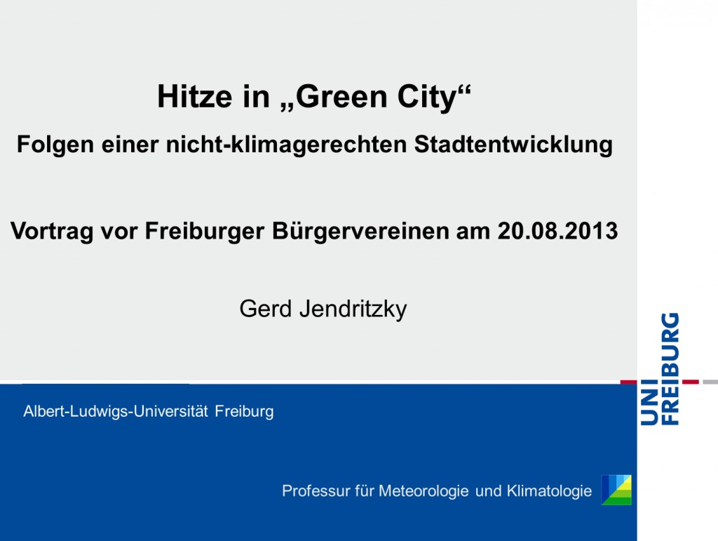 Hitze in Green City