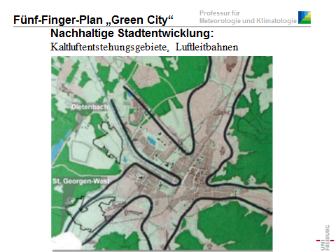 "Folie 2: Fünf-Finger-Plan ""Green City"""
